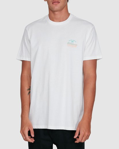 0 Combo Wave Short Sleeve Tee White 9503010 Billabong