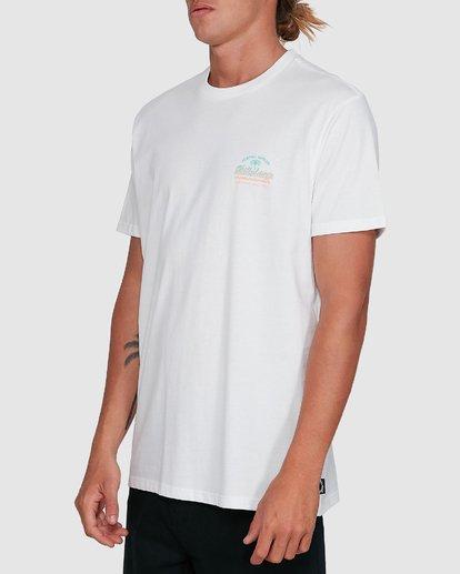 2 Combo Wave Short Sleeve Tee White 9503010 Billabong
