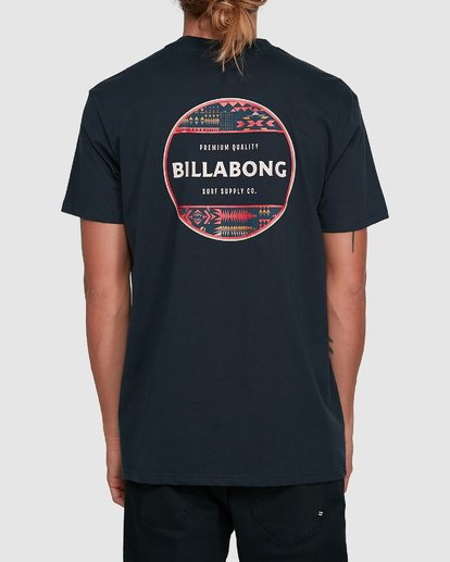 3 Rotor Short Sleeve Tee Blue 9503011 Billabong