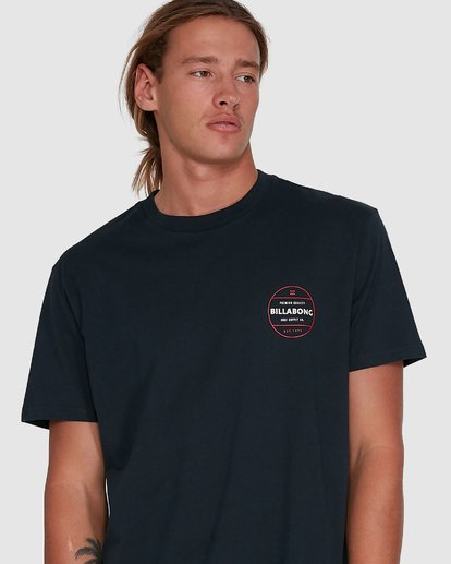 4 Rotor Short Sleeve Tee Blue 9503011 Billabong