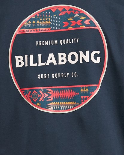 5 Rotor Short Sleeve Tee Blue 9503011 Billabong