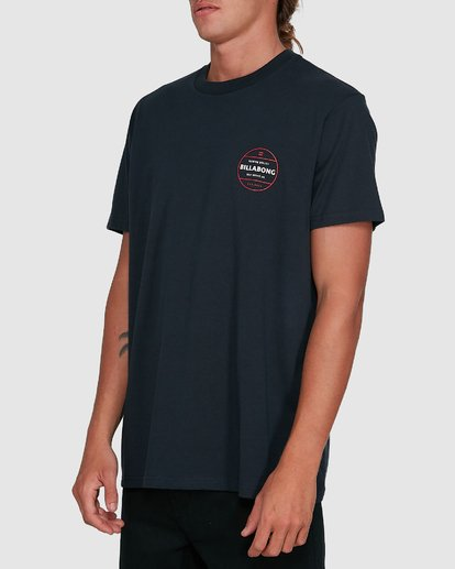 2 Rotor Short Sleeve Tee Blue 9503011 Billabong