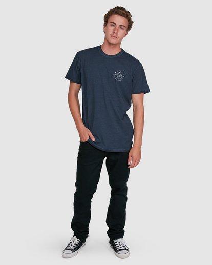 5 Big Wave Dave Short Sleeve Tee Blue 9503012 Billabong