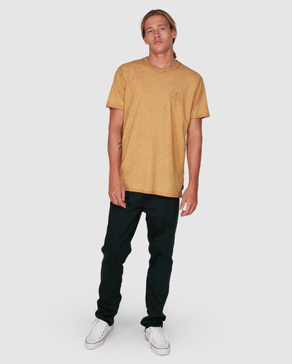 7 Big Wave Dave Short Sleeve Tee Grey 9503012 Billabong