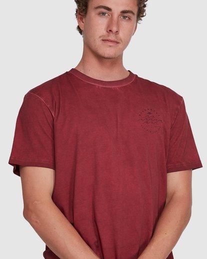 3 Big Wave Dave Short Sleeve Tee Red 9503012 Billabong