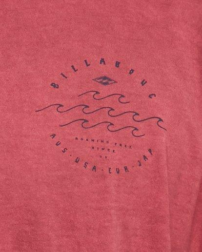4 Big Wave Dave Short Sleeve Tee Red 9503012 Billabong