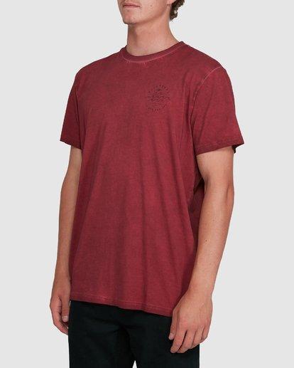 1 Big Wave Dave Short Sleeve Tee Red 9503012 Billabong
