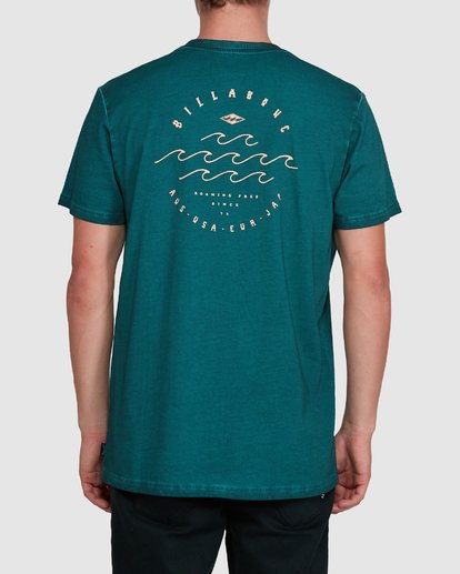 2 Big Wave Dave Short Sleeve Tee Green 9503012 Billabong