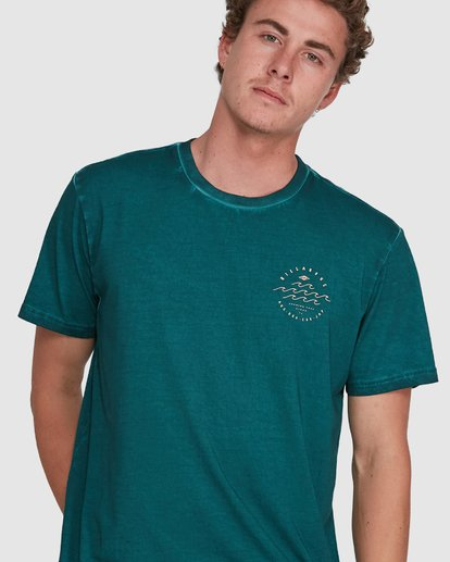 3 Big Wave Dave Short Sleeve Tee Green 9503012 Billabong