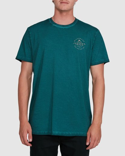 0 Big Wave Dave Short Sleeve Tee Green 9503012 Billabong
