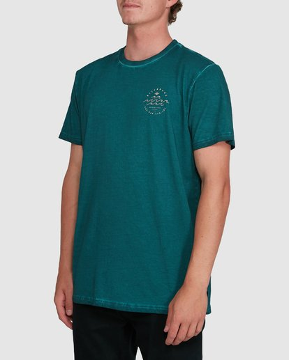 1 Big Wave Dave Short Sleeve Tee Green 9503012 Billabong