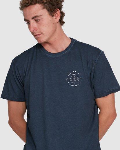 3 Big Wave Dave Short Sleeve Tee Blue 9503012 Billabong