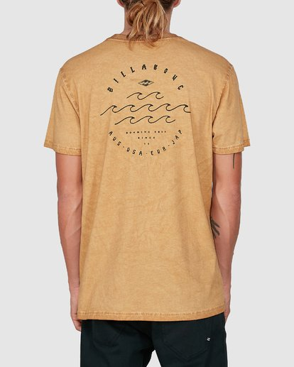 2 Big Wave Dave Short Sleeve Tee Grey 9503012 Billabong