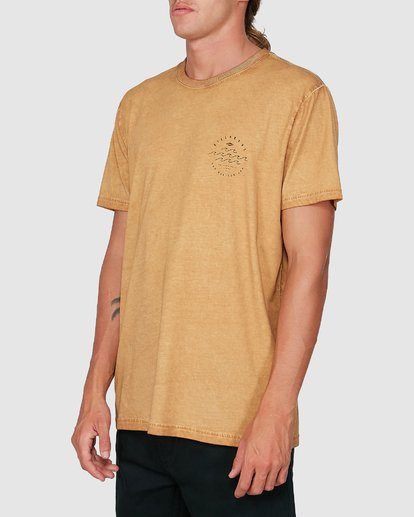 1 Big Wave Dave Short Sleeve Tee Grey 9503012 Billabong