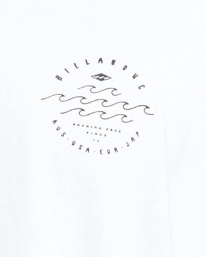 4 Big Wave Dave Short Sleeve Tee White 9503012 Billabong