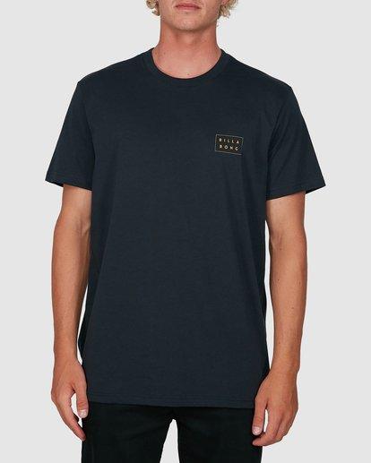 0 Die Cut Theme Short Sleeve Tee Blue 9503013 Billabong