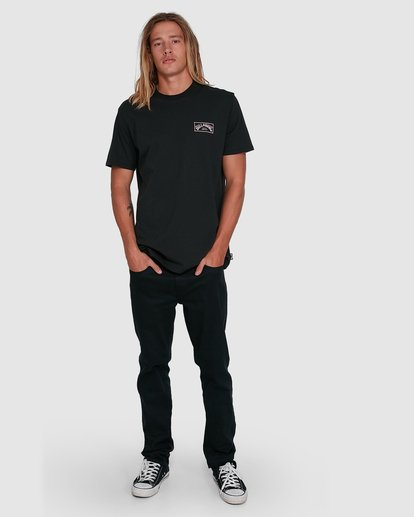 5 Boxed Arch Short Sleeve Tee Black 9503014 Billabong