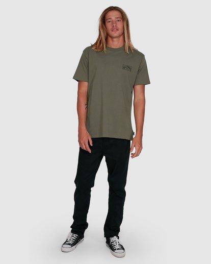 6 Boxed Arch Short Sleeve Tee Green 9503014 Billabong