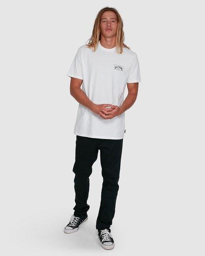 6 Boxed Arch Short Sleeve Tee White 9503014 Billabong
