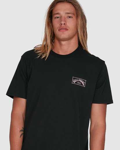 4 Boxed Arch Short Sleeve Tee Black 9503014 Billabong