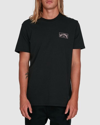 0 Boxed Arch Short Sleeve Tee Black 9503014 Billabong