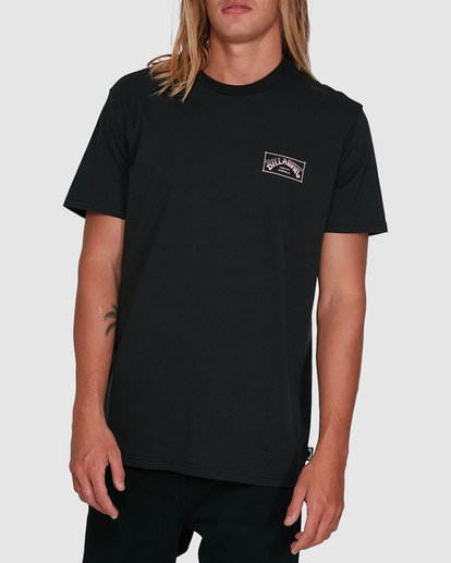 1 Boxed Arch Short Sleeve Tee Black 9503014 Billabong
