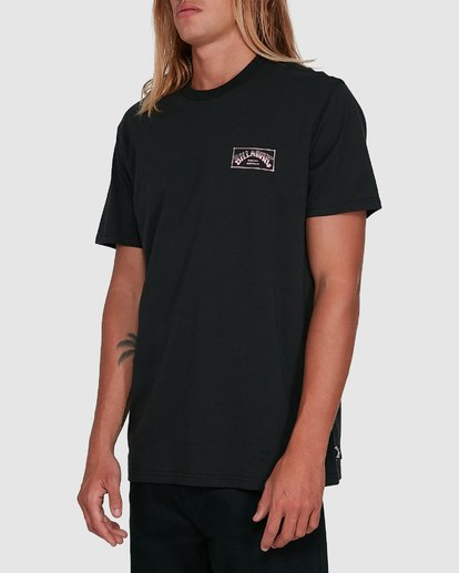 2 Boxed Arch Short Sleeve Tee Black 9503014 Billabong
