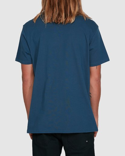 3 Boxed Arch Short Sleeve Tee Blue 9503014 Billabong