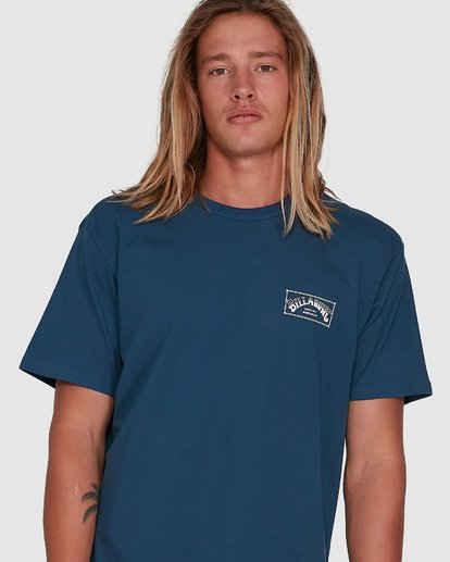 4 Boxed Arch Short Sleeve Tee Blue 9503014 Billabong