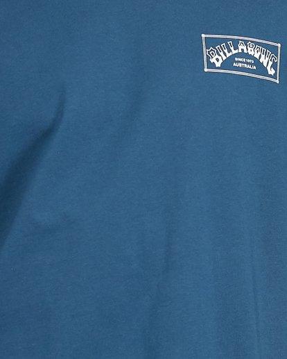 5 Boxed Arch Short Sleeve Tee Blue 9503014 Billabong