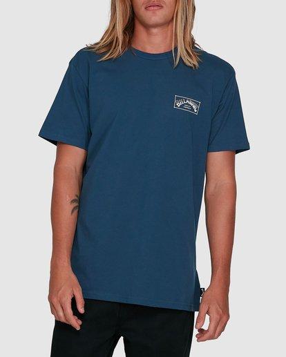 1 Boxed Arch Short Sleeve Tee Blue 9503014 Billabong