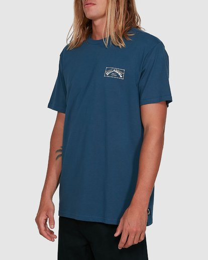 2 Boxed Arch Short Sleeve Tee Blue 9503014 Billabong