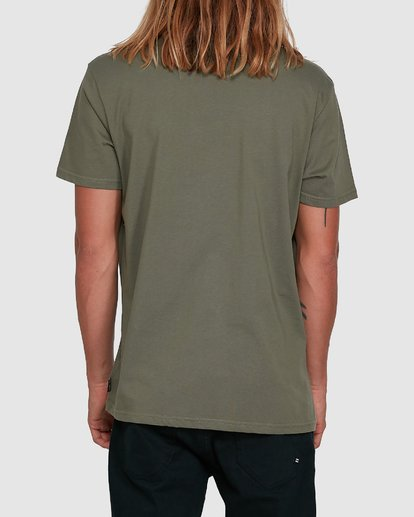 3 Boxed Arch Short Sleeve Tee Green 9503014 Billabong