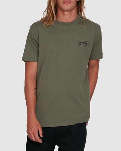 1 Boxed Arch Short Sleeve Tee Green 9503014 Billabong