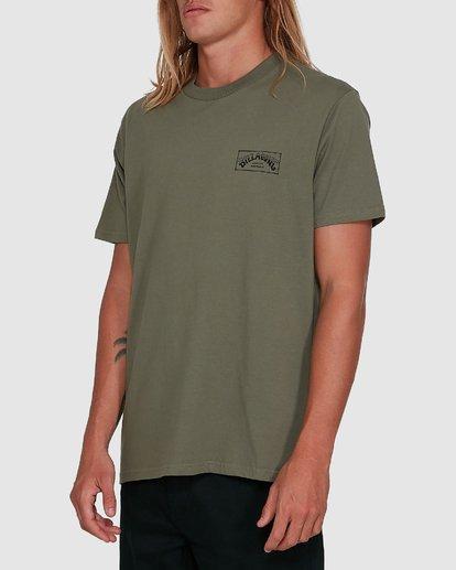 2 Boxed Arch Short Sleeve Tee Green 9503014 Billabong