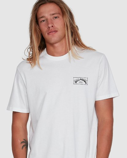 4 Boxed Arch Short Sleeve Tee White 9503014 Billabong