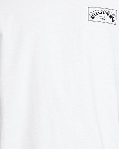 5 Boxed Arch Short Sleeve Tee White 9503014 Billabong
