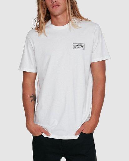 1 Boxed Arch Short Sleeve Tee White 9503014 Billabong