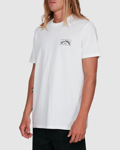 2 Boxed Arch Short Sleeve Tee White 9503014 Billabong