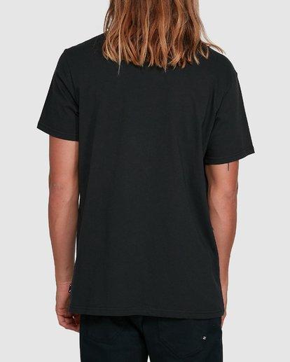 3 Access Front Short Sleeve Tee Black 9503015 Billabong