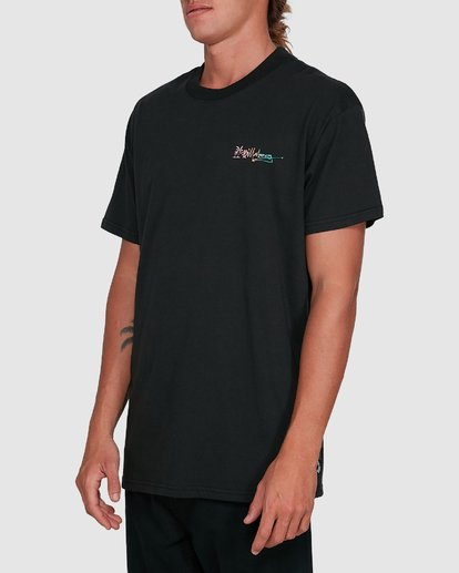 2 Crayon Wave Short Sleeve Tee Black 9503016 Billabong