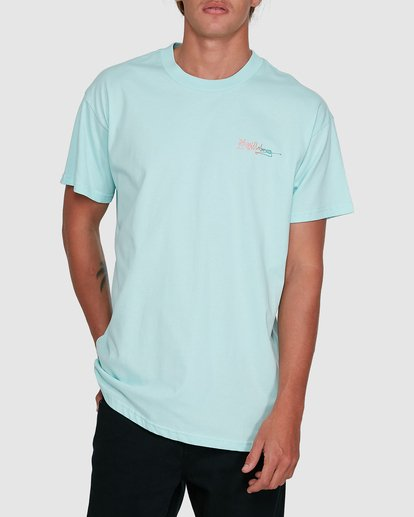 1 Crayon Wave Short Sleeve Tee Green 9503016 Billabong