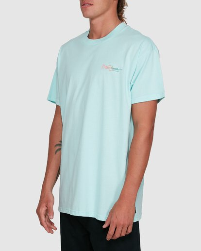 2 Crayon Wave Short Sleeve Tee Green 9503016 Billabong