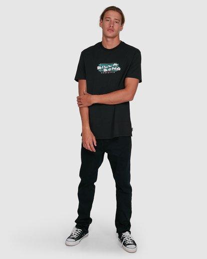 6 Slasher Short Sleeve Tee Black 9503018 Billabong