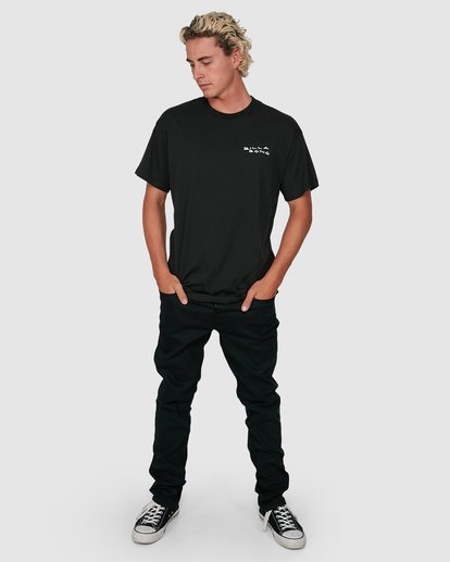 5 King Palm Short Sleeve Tee Black 9503019 Billabong