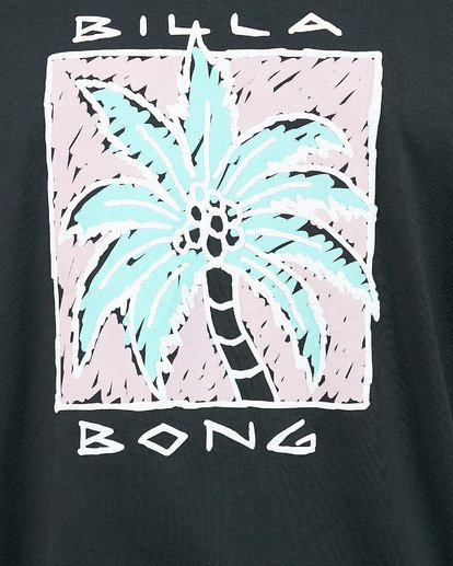 4 King Palm Short Sleeve Tee Black 9503019 Billabong