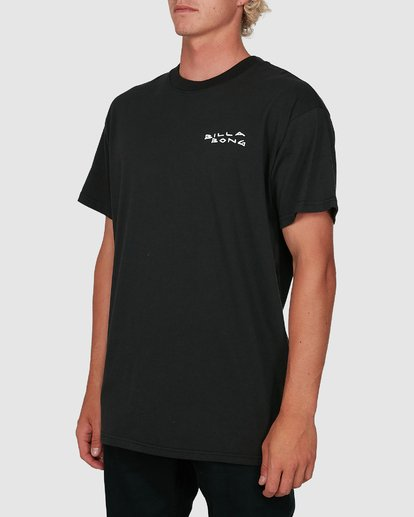 1 King Palm Short Sleeve Tee Black 9503019 Billabong