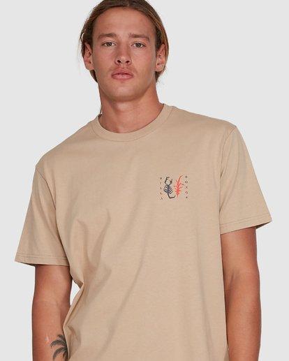 4 Scorpio Short Sleeve Tee Green 9503021 Billabong