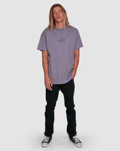 6 Yerrrp Short Sleeve Tee Purple 9503023 Billabong