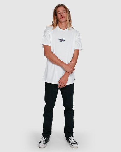 6 Yerrrp Short Sleeve Tee White 9503023 Billabong
